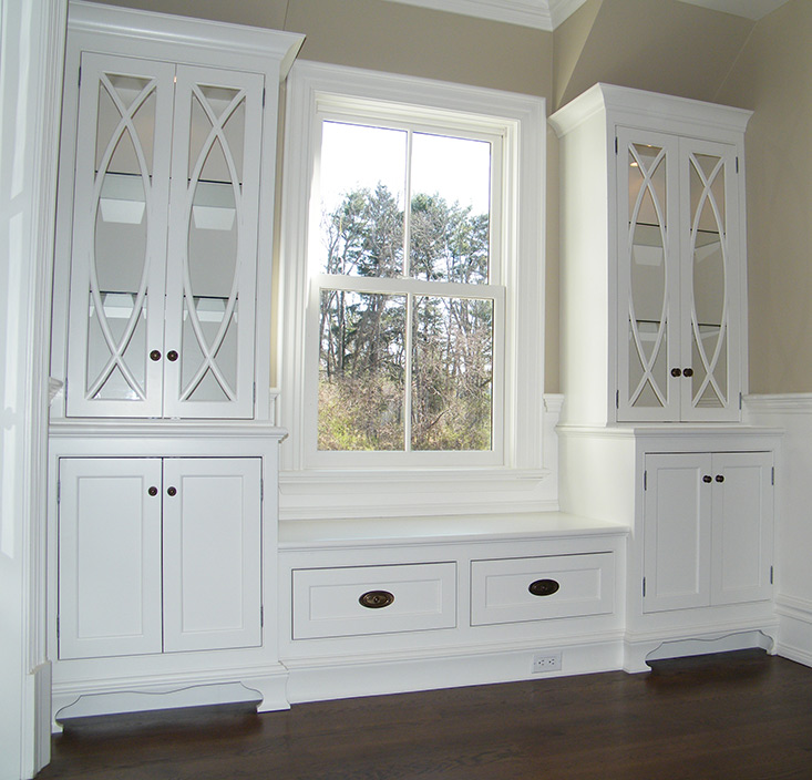 Custom Designed Cabinets and Pantries